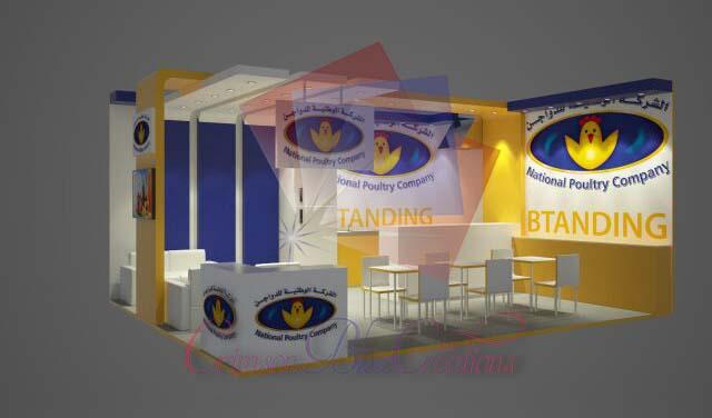 Exhibitions Stand design by Crimson Blue Creations in Dubai, Sharjah, Ajman